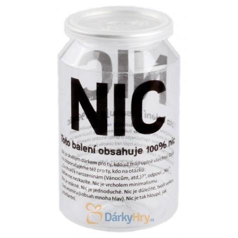 Dárkové NIC - Plechovka