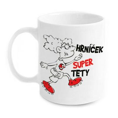 Vtipný hrnek - Super Tety