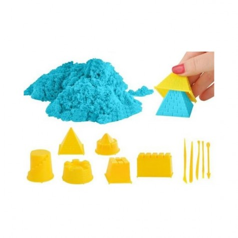 Tekutý kinetický písek - velký set 1000 g