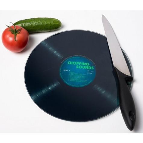 Prkénko na krájení - Gramofonová deska