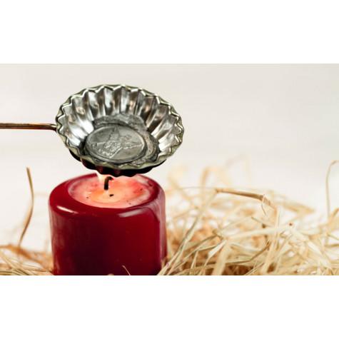 Vánoční sada na tradiční lití olova