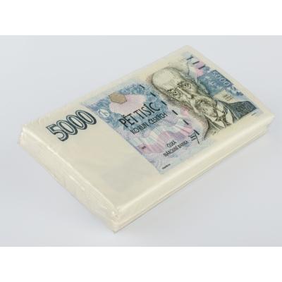 Papírové ubrousky 5000 Kč