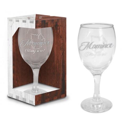 Sklenice na víno - Mamince