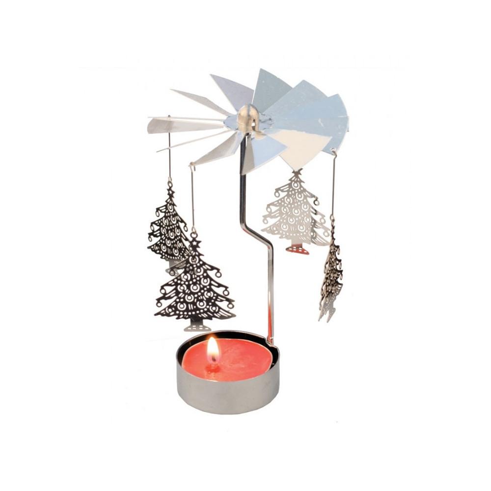Kolotoč na čajovou svíčku - Strom