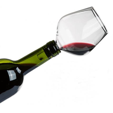 Zátka na víno - sklenice