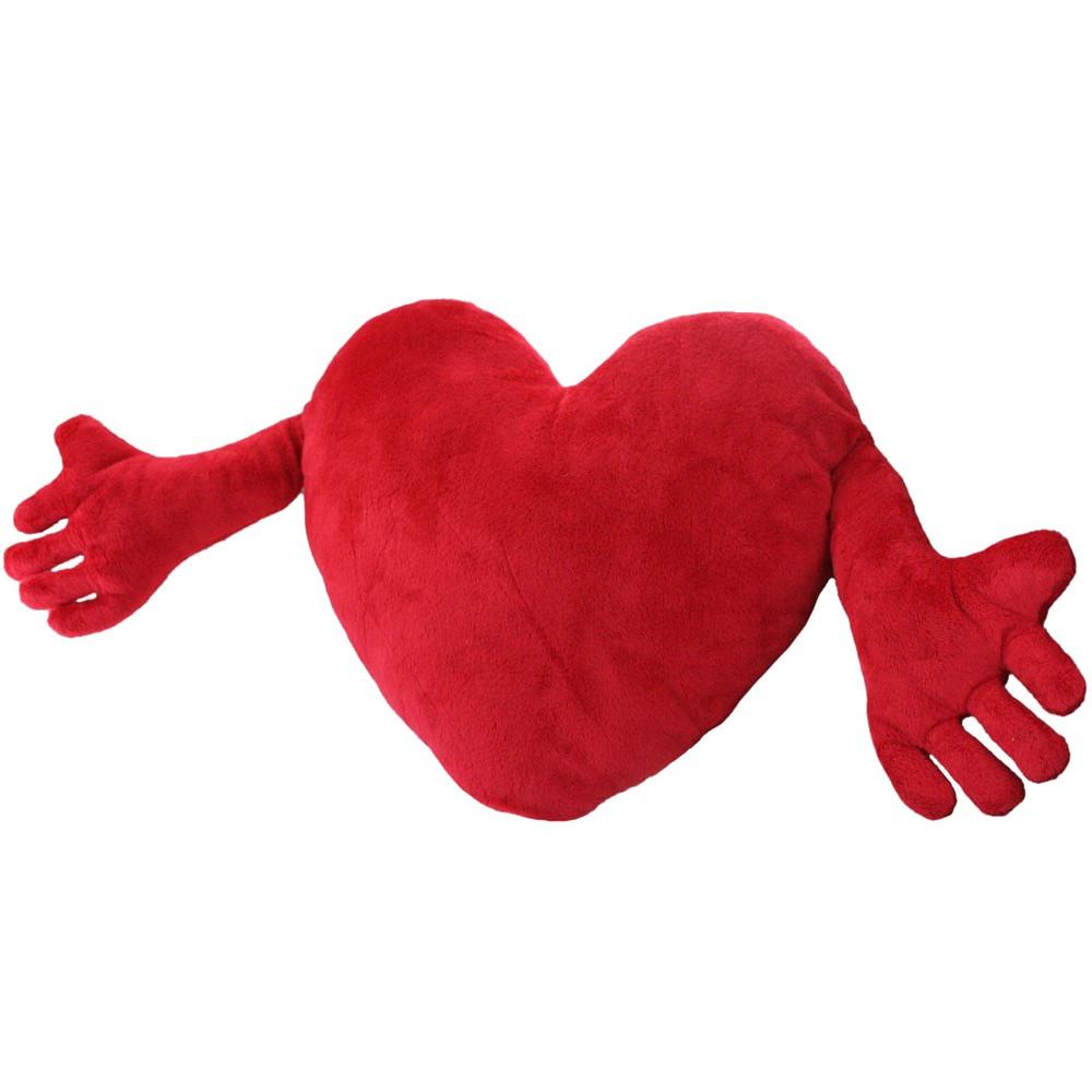 Polštář - srdce s rukama