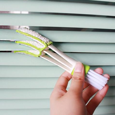 Čistič ventilací a žaluzií 2v1
