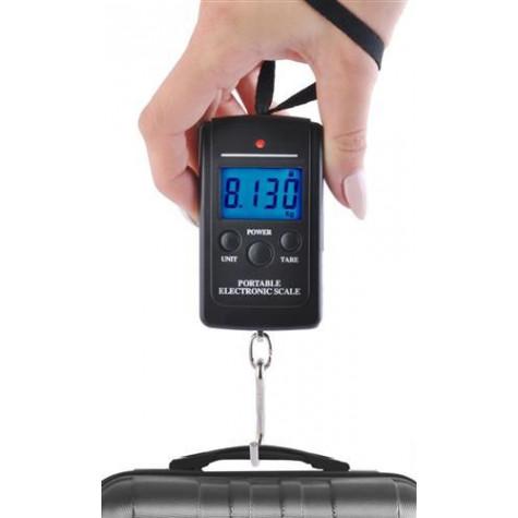 Cestovní digitální závěsná váha na zavazadla do 40 kg