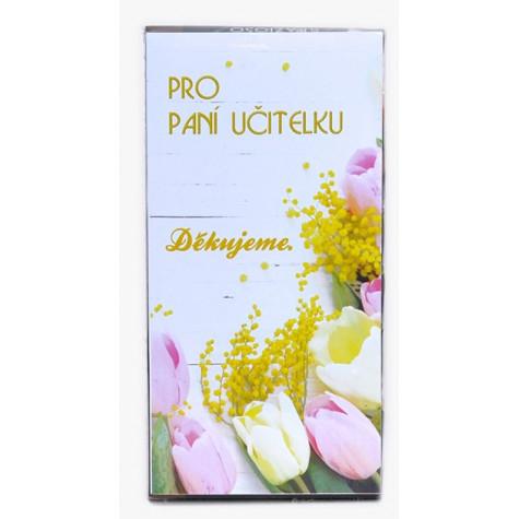 Sada 8 ks čokoládek Pro paní učitelku 2 - tulip