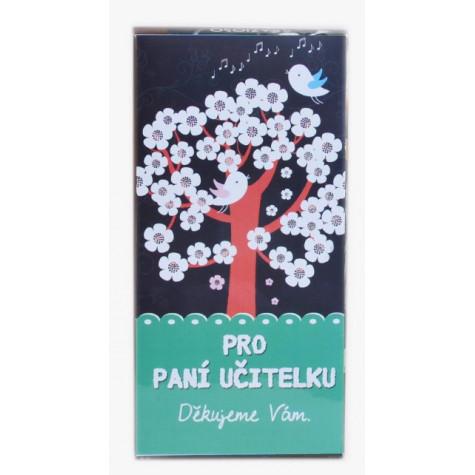 Sada 8 ks čokoládek Pro paní učitelku 4 - strom