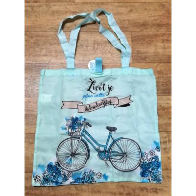 Nákupní taška - Dobrodružství - kolo