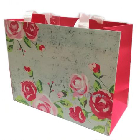 Dárková taška - Růže - střední 23x17,5x10