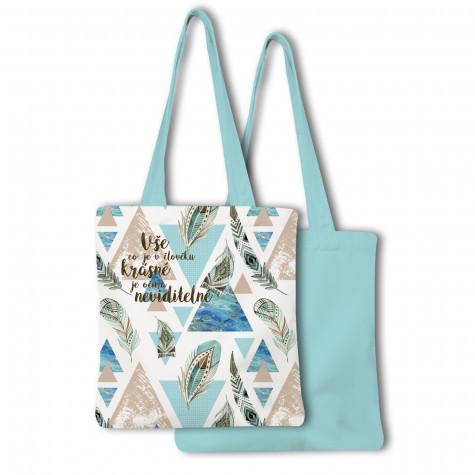Nákupní taška - Vše co je v člověku krásné