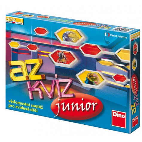 Dino AZ kvíz Junior dětská hra