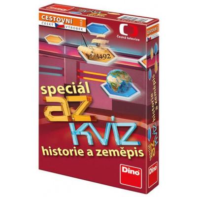 Dino AZ kvíz speciál: Historie a zeměpis cestovní hra