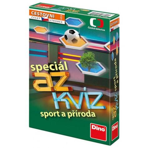 Dino AZ kvíz speciál: Sport a příroda cestovní hra