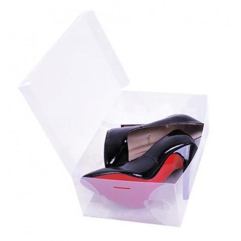 Průhledná krabice na boty