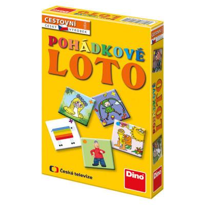 Dino Večerníčky Pohádkové loto cestovní hra