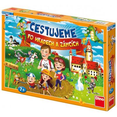Dino Cestujeme po hradech a zámcích rodinná hra