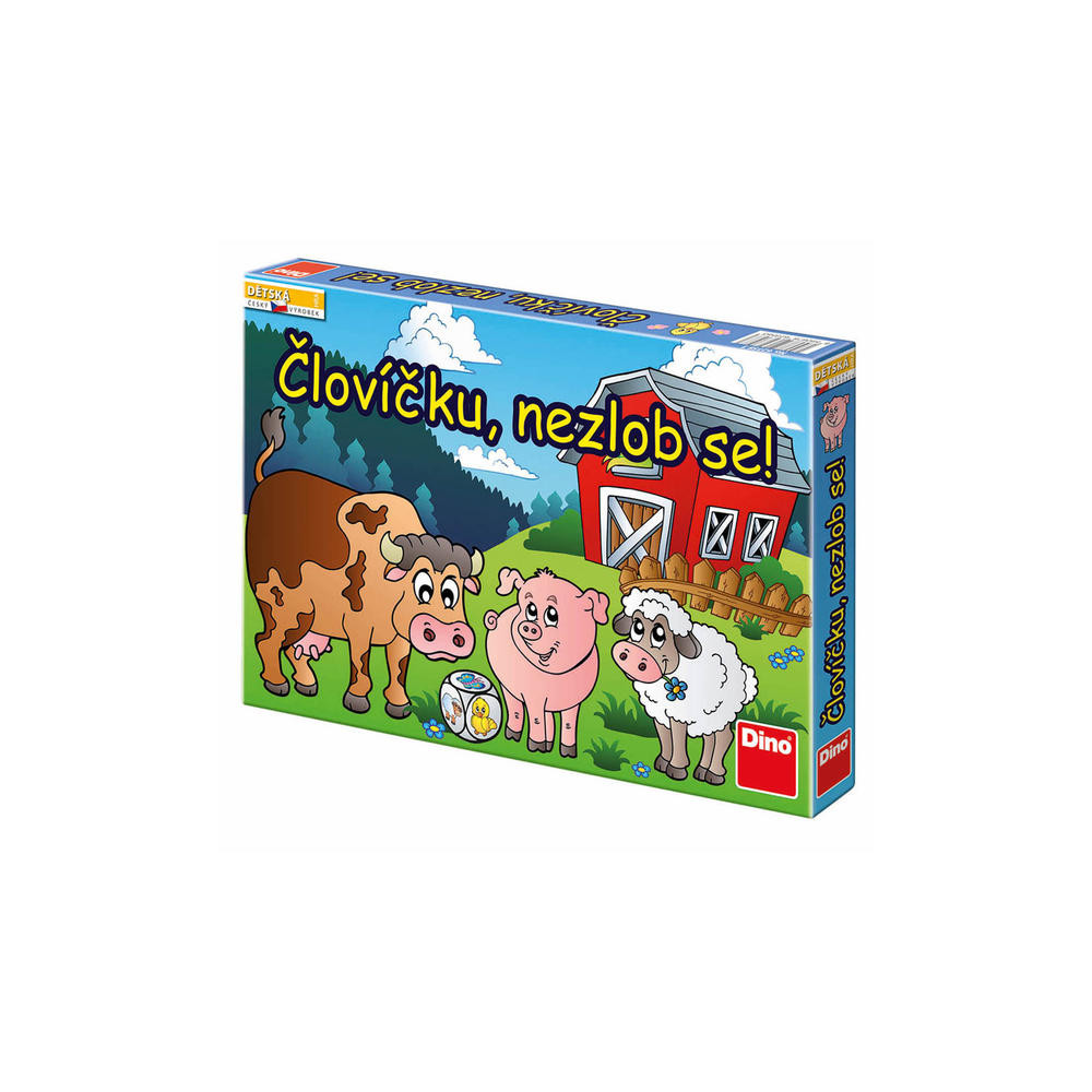 Dino Človíčku nezlob se dětská hra