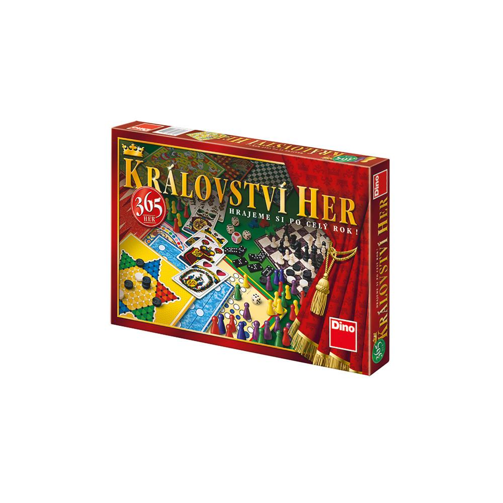 Dino Království her (365 her) rodinná hra