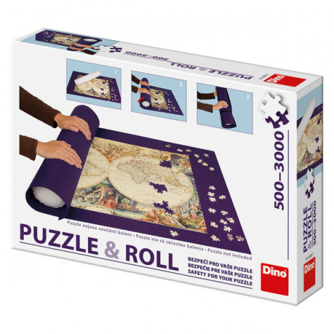 Dino Podložka pod puzzle rolovací pro až 3000 dílků