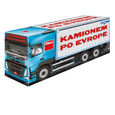 Dino Kamionem po Evropě rodinná hra