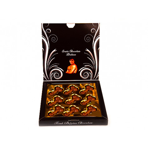 Exkluzivní čokoládová bonboniéra pro dámy