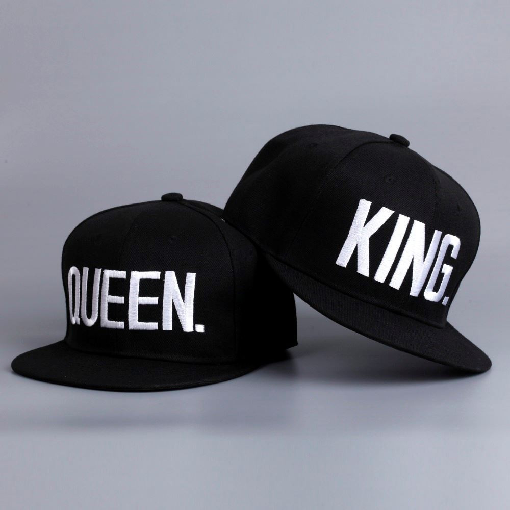 Párové čepice King and Queen 2 ks