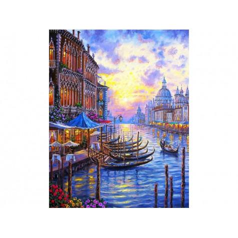 Malování podle čísel - Benátky