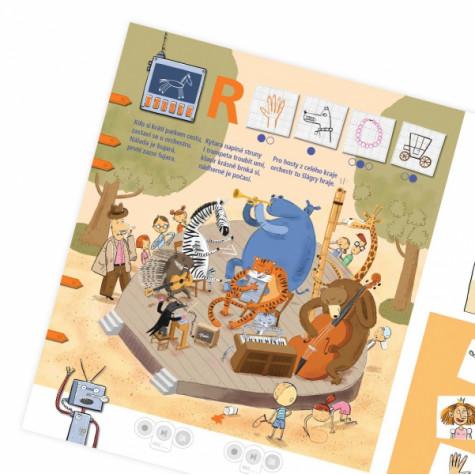 Albi Kouzelné čtení - Kniha Když roboti brebentí