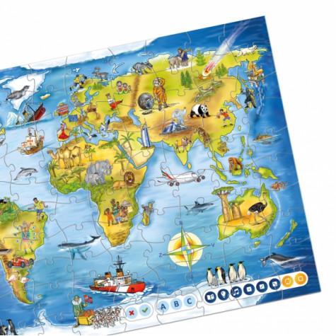 Albi Kouzelné čtení - Puzzle Svět
