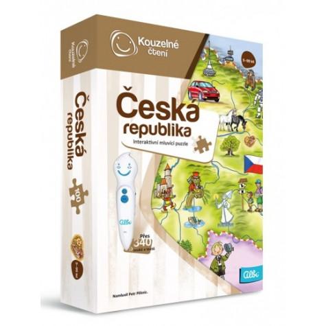 Albi Kouzelné čtení - Puzzle Česká republika