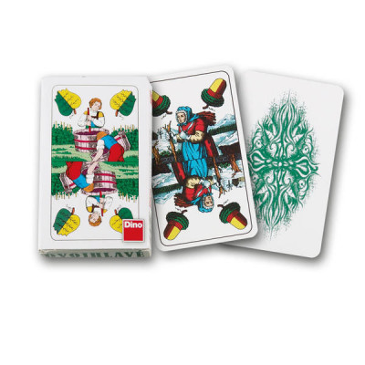 Dino Mariášové karty dvouhlavé
