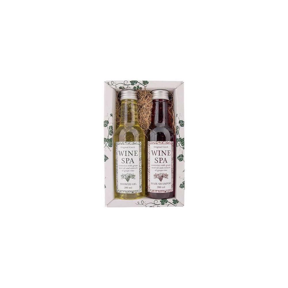 Vinný kosmetický balíček - gel+šampon