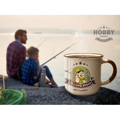 Hobby hrnek - Nejlepší rybář