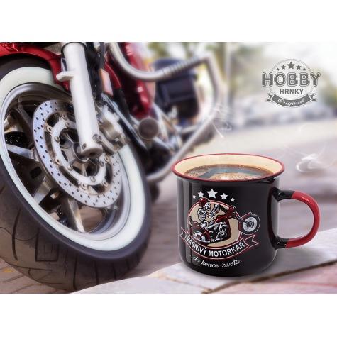 Hobby hrnek - Vášnivý motorkář