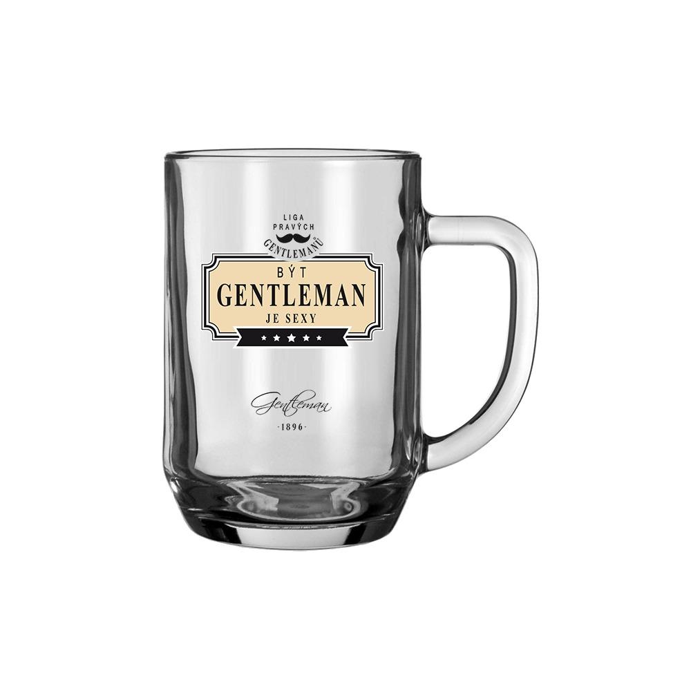 Gentleman Pivní sklenice - Být gentleman je sexy