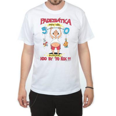 Tričko - Padesátka není věk