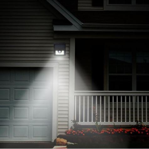 Solární venkovní LED světlo se senzorem pohybu