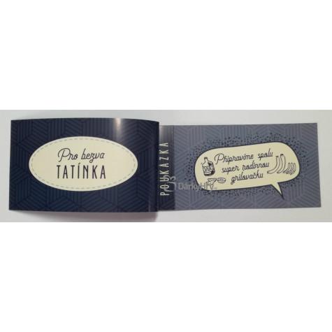 Poukázky splněných přání - Tatínkovi