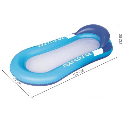 Bestway 43103 Nafukovací lehátko Aqua Lounge 160 x 84 cm - modré
