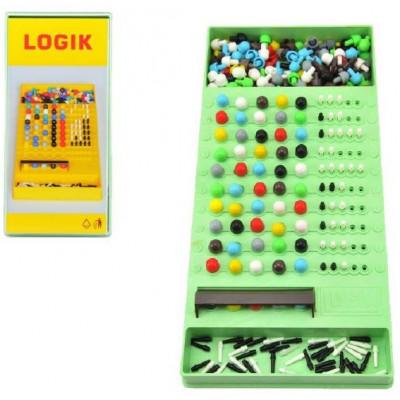 Teddies Logik společenská hra hlavolam14x29x3cm