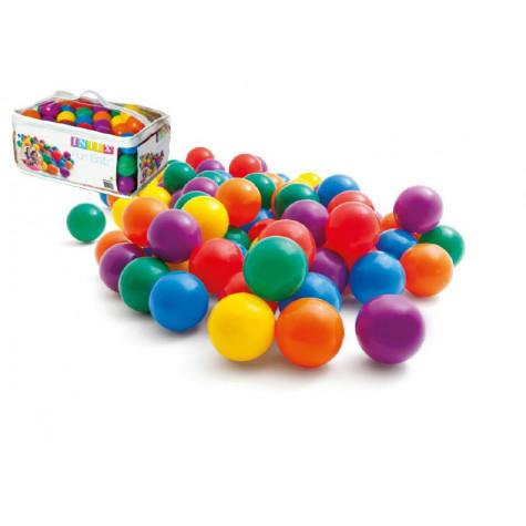 Intex 49602 Míčky do bazénu 6,5cm barevný 100ks v tašce