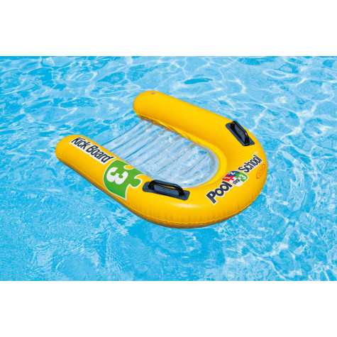 Intex 58167 Plavací deska Pool School lehátko nafukovací s úchyty 79x76cm