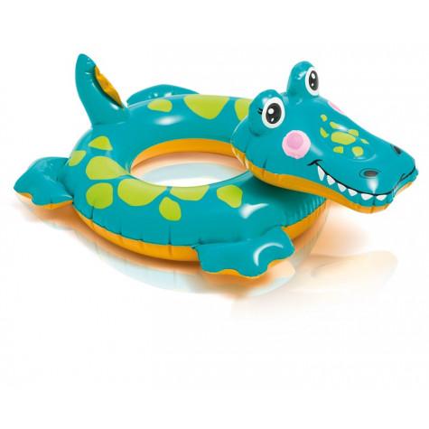 Intex 58221 Kruh nafukovací zvířátko - aligátor