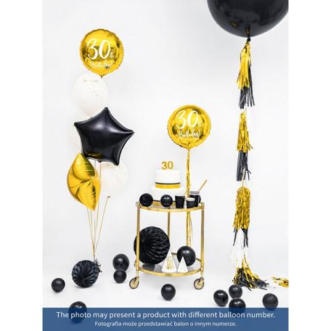 Foliový balónek zlatý - 40. narozeniny