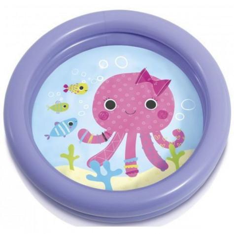 Intex 59409 Bazén dětský nafukovací 61x15cm - fialový