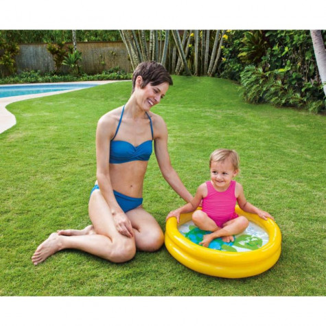 Intex 59409 Bazén dětský nafukovací 61x15cm - žlutý