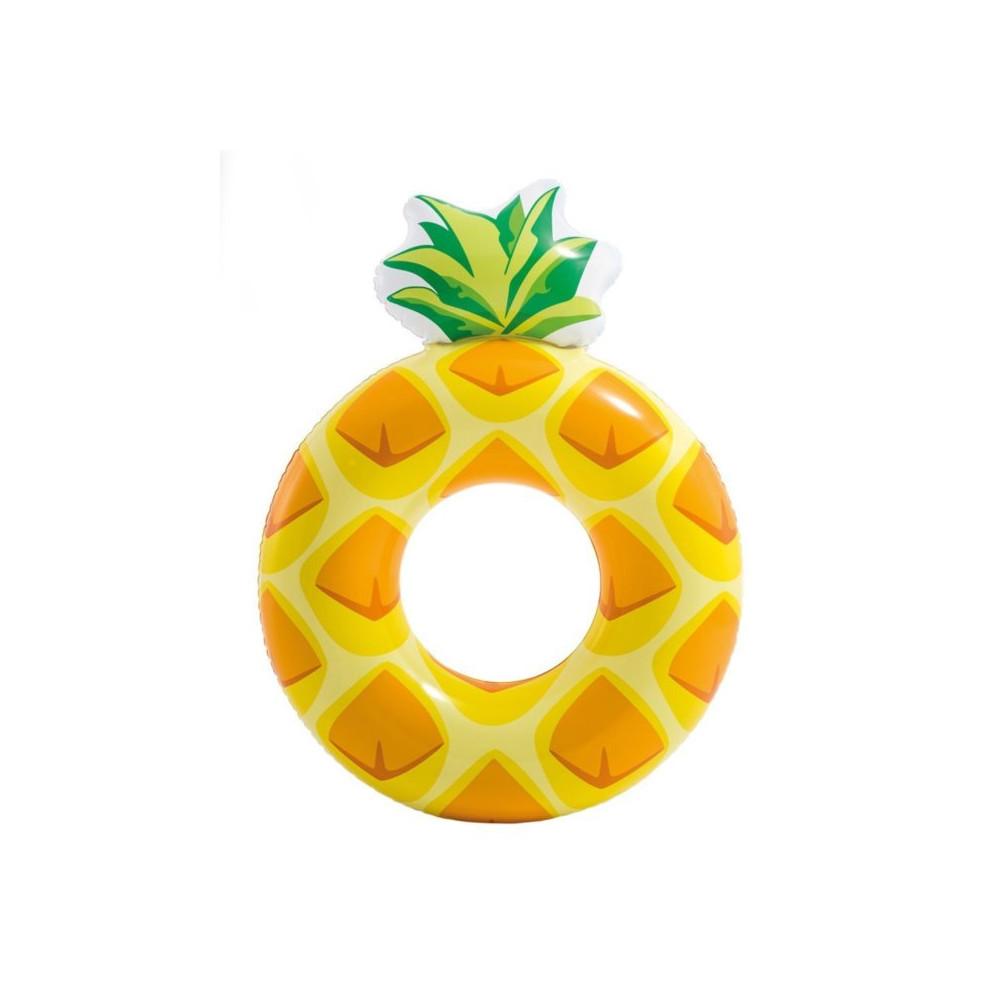 Intex 56266 Kruh ananas nafukovací 117x86cm